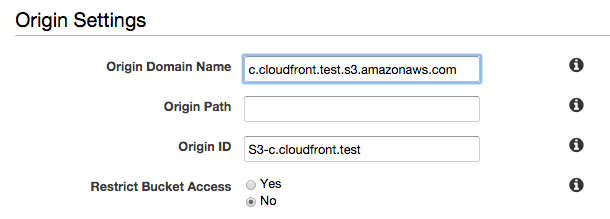 Creating a CloudFront distribution with an Amazon S3 origin