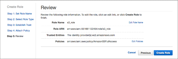 AWS Identity and Access Management (IAM) Roles for Amazon EC2 - 2018