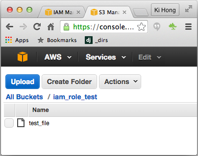 AWS Identity and Access Management (IAM) Roles for Amazon