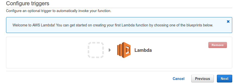AWS Hello World Lambda Function : abstracting language runtime