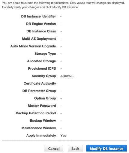 AWS RDS : PostgreSQL 1 - 2018