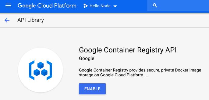 Docker : Dockerfile - NodeJS with GCP Kubernetes Engine - 2019