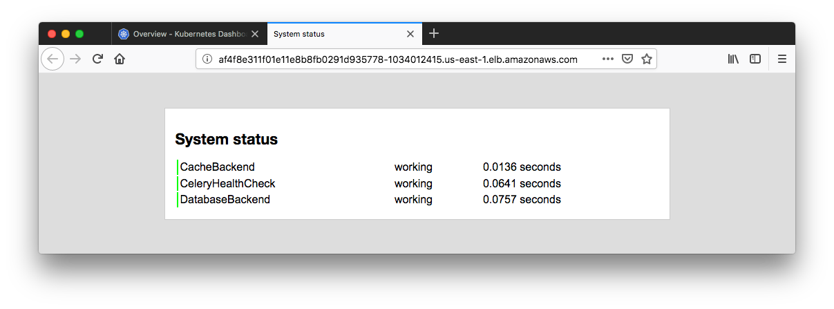 Docker & Kubernetes 4 : Django with RDS via AWS Kops - 2018
