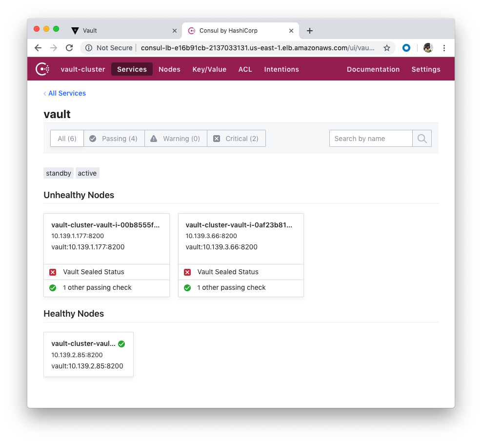 HashiCorp Vault and Consul on AWS with Terraform - 2019