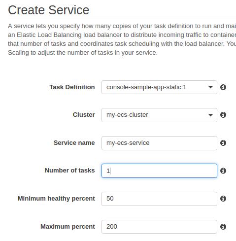 AWS EC2 Container Service (ECS) & EC2 Container Registry