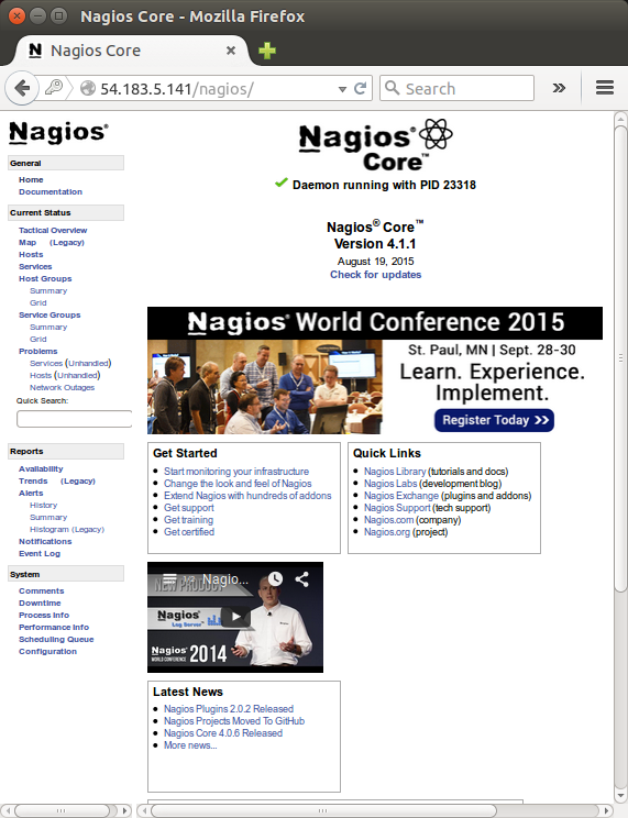 Nagios - The Industry Standard in IT Infrastructure