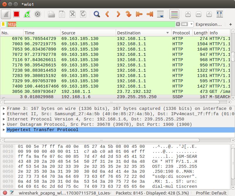 Wireshark Inroduction (Ubuntu 16 04) - 2016