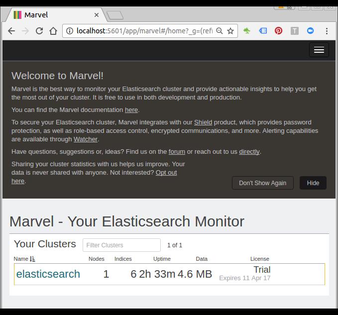 ELK : Logstash, ElasticSearch, and Kibana 4 tutorial - 2018