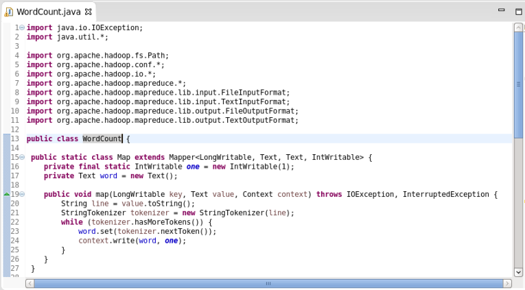Apache Hadoop : Creating Wordcount Java Project with Eclipse