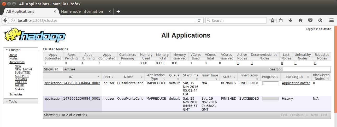 Hadoop 2 6 5 - Installing on Ubuntu 16 04 (Single-Node