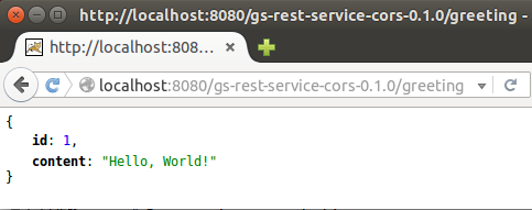 Spring-Boot REST API with CORS App Maven war file deploy to