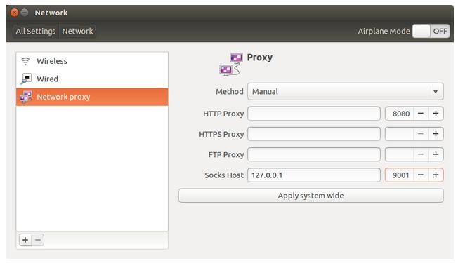Linux Secure Shell (SSH) III : SSH Tunnel as Proxy - Dynamic Port
