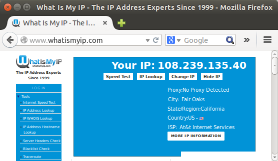 what is my ip address for port forwarding
