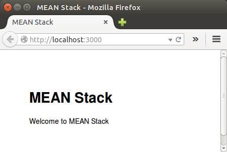 Mean stack tutorial expressjs with jade template i 2018 mean stack homeg pronofoot35fo Images