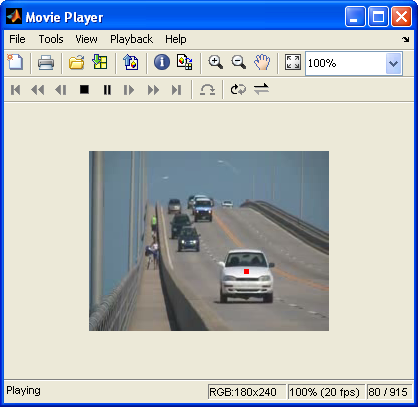 Matlab Tutorial : Video Processing 1 - Object Detection by color