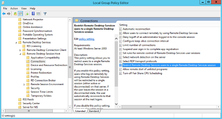 Windows : How to Enable Multiple RDP Sessions in Windows
