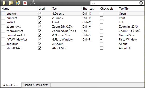 Qt5 Tutorial MainWindow and ImageViewer using Creator - Part