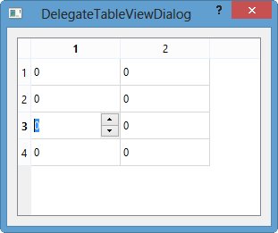Qt5 Tutorial ModelView with QTableView and QItemDelegate - 2018