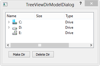 Qt5 Tutorial ModelView with QTreeView and QDirModel - 2018