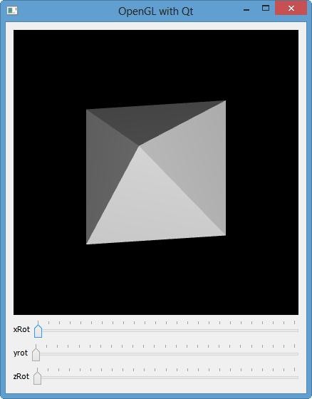 Qt5 Tutorial OpenGL with QGLWidget - 2018