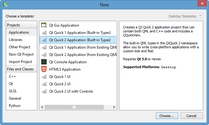 Qt5 Tutorial Creating QtQuick2 QML Application Animation A - 2016