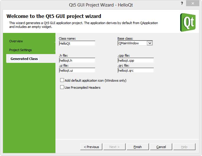 Qt5 Tutorial Visual Studio Add-in for Qt5 - 2016