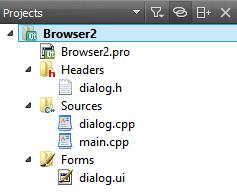 Qt5 Webkit Tutorial : Web Browser with QtCreator using QWebView B - 2018
