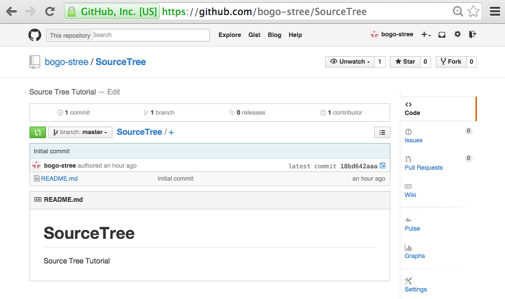 Tutorial Git and GitHub : Source Tree I (commit & push) - 2018