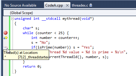 C++ Tutorial: Multi-Threaded Programming II - Thread for Win32 (B