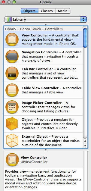 Library View Controller