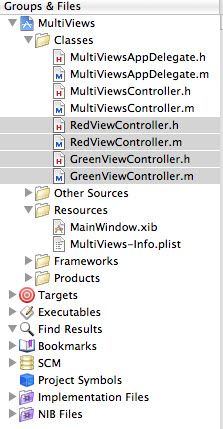 Red Green ViewController Files