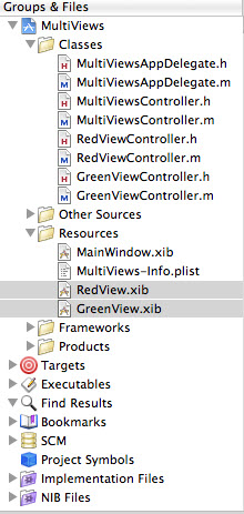 Red Green ViewXib Files