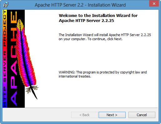 apache installer