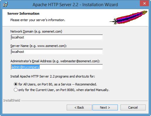 Server Infomation