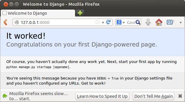django example sites