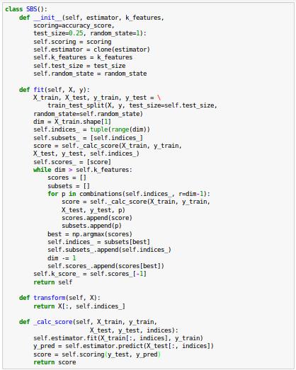 scikit-learn : Data Preprocessing III - Dimensionality